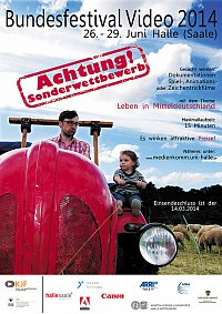 Plakat Bundesfestival Video 2014