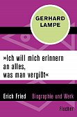 Cover zur Erich-Fried-Biographie von Gerhard Lampe